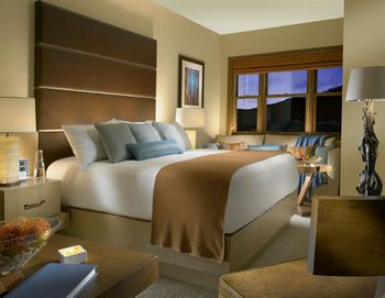 Guest room at The Osprey at Beaver Creek, A Rock Resort.