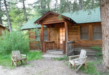 Cabin Exterior at Shoshone Lodge & Ranch