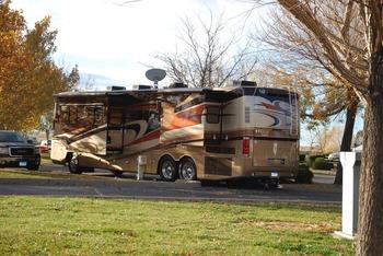 RV campsite at American RV Park.