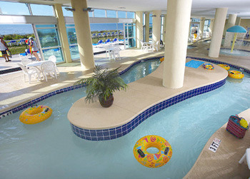 Lazy River at Bay View Resort.