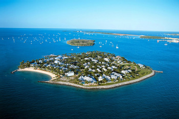 Aerial view of Sunset Key Guest Cottages, a Luxury Collection Resort.