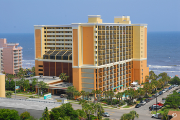 Exterior view of The Caravelle Golf & Family Resort.