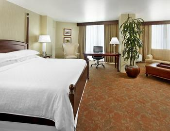 Guest Suite at the Sheraton Brookhollow Hotel Near the Galleria