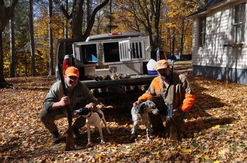 Hunting at The Timbers Resort.