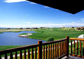 Golf Course at Teton Springs Lodge