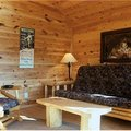 Cedar Cabin Interior at Lodge of Whispering Pines