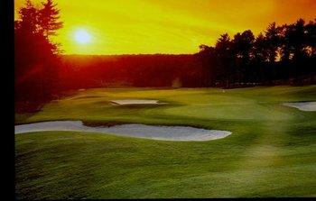 Beautiful Sunset Course Views at Woodloch Resort