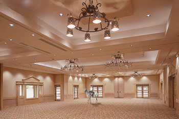 Ballroom at Rancho De Los Caballeros.