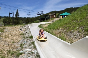 Alpine Slide at Kandahar Lodge