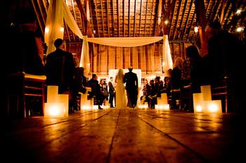 Wedding ceremonies at Gedney Farm.