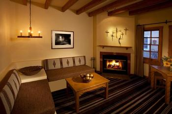 Suite interior at Hotel Chimayo de Santa Fe.
