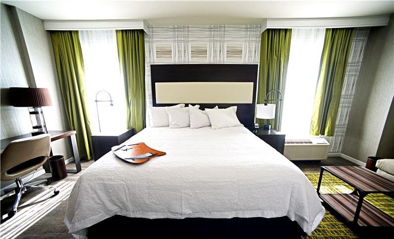 Guest Room at Hampton Inn & Suites Washington DC-Navy Yard