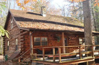 Big Poplar cabin at Cheat River Lodge.