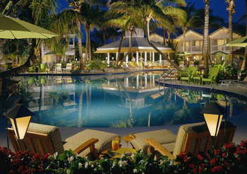 Outdoor pool at The Inn at Key West.