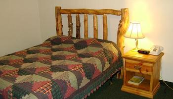 Guest bedroom at  Bryce Canyon Inn.
