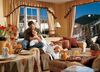 Guest suite at The Lodge At Vail.