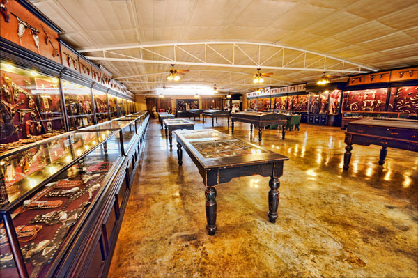 Museum at Trois Estate at Enchanted Rock