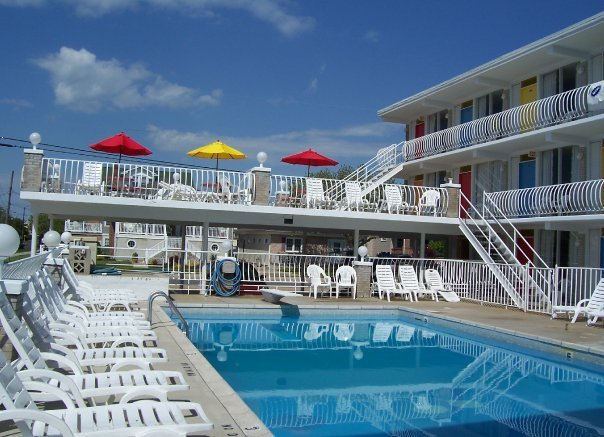 Lollipop motel north wildwood nj resort reviews for Pool show new jersey