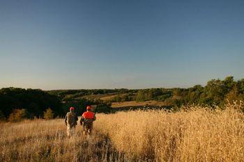 Hunting at Harpole's Heartland Lodge.