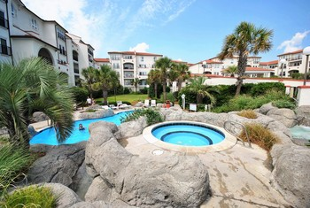 Outdoor pool at Villa Capriani.