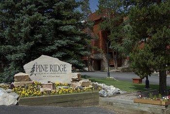 Exterior view of Pine Ridge Condominiums.