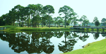 Golf view at Seascape Resort.