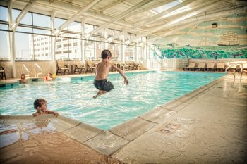 Indoor Pool at The Oceanfront Inn