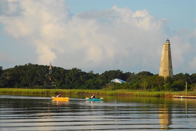 Kayaking at Bald Head Island Limited.