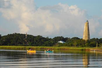 Kayaking at Bald Head Island Limited.