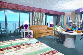 Suite interior at Ocean Reef Resort.