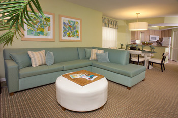 Guest living room at Star Island Resort.