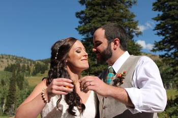 Wedding at Grand Targhee Resort.