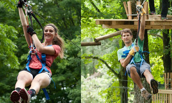 Pocono TreeVentures at Fernwood Resort
