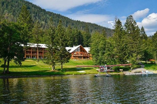 Tyax Mountain Lake Resort Gold Bridge British Columbia