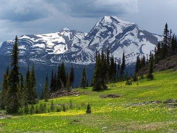 Glacier National Park by Izaak Walton Inn.