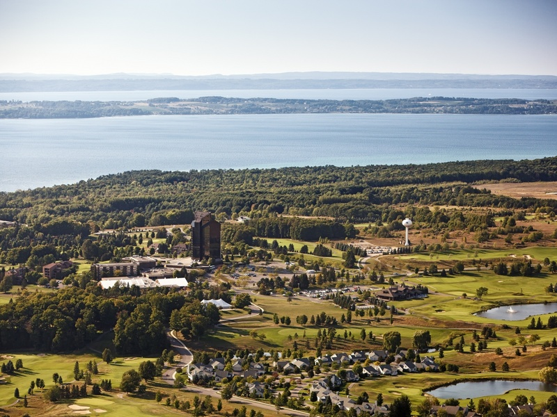 Aerial View of Grand Traverse Resort