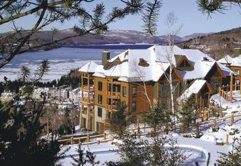 Vacation rental exterior at Tremblant VIP Lodging.