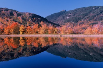 Lake view at Smugglers' Notch Resort.