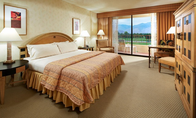 Guest room at Doral Desert Princess Resort and Spa.