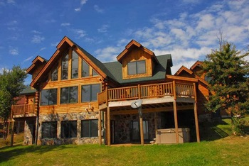 Exterior view of Deep Creek Vacations.