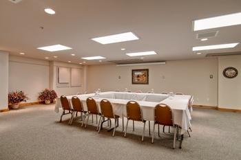 Meeting room at Torian Plum Resort.