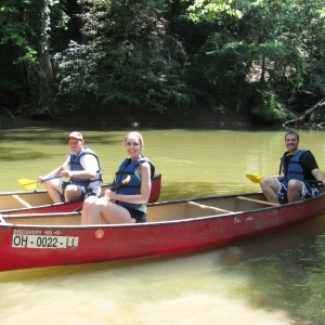 Canoeing at Glenlaurel Inn