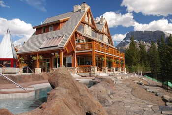 Resort exterior at Banff Lodging Company.