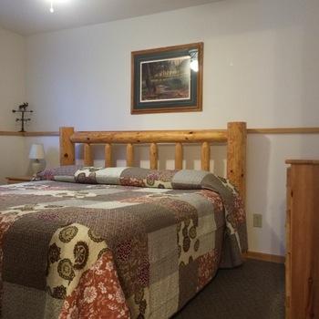1 Bedroom Luxury Suite -- Suite #8 at Northern Lights Lodge & Resort.