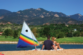 Romantic beaches at Cheyenne Mountain Resort.