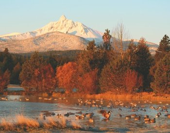 Mountain View With Lake at Black Butte Ranch