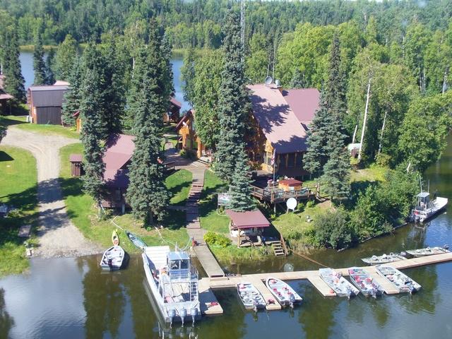 Northwoods lodge skwentna ak resort reviews for Alaska fishing lodges all inclusive