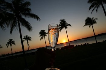Romantic Sunset at KeysCaribbean
