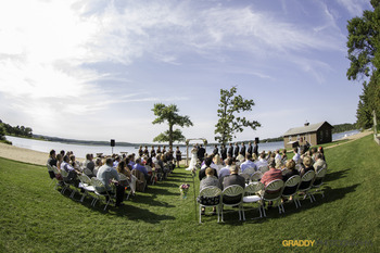 Wedding at Madden's on Gull Lake