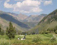 Vail Golf Course at Vail's Mountain Haus.